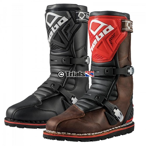 Hebo Tech 2.0 Leather Trials Boot in Black or Brown