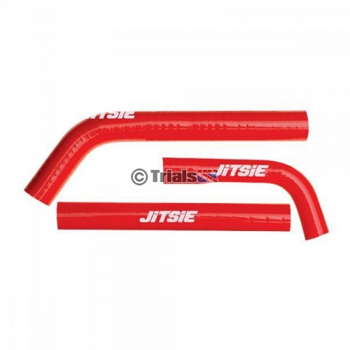 Jitsie GasGas Red Radiator Hoses - TXT Pro/Raga - 2002 - 2013