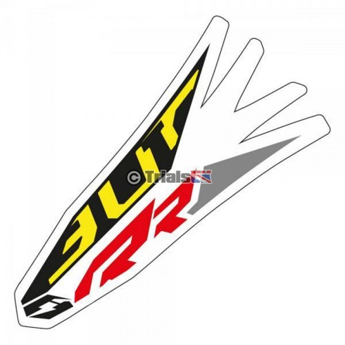 Jitsie TRS RR Front Mudguard Decal