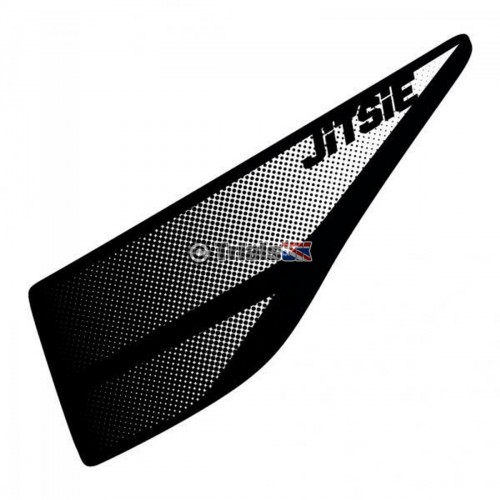 Jitsie Montesa 4RT/RR/Repsol Airbox Decal - Black/Silver - 2005 Onwards