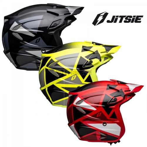 Jitsie Limited Edition HT2 WAVE Lightweight Fibreglass Helmet - In 2 Colour Ways