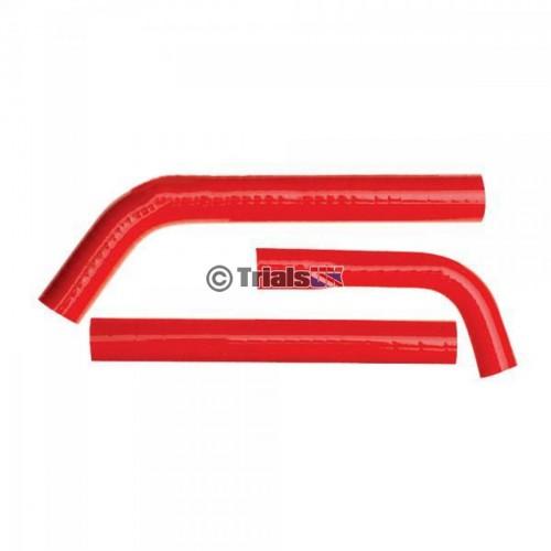 SFS GasGas Red Radiator Hoses - TXT Pro/Raga - 2002 - 2013