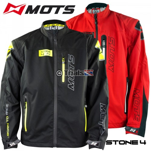 MOTS Stone4 Waterproof Trials Jacket with removable inner Fleece