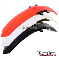 Beta Evo Front Mudguard - Black/Red/White 2009 Onwards