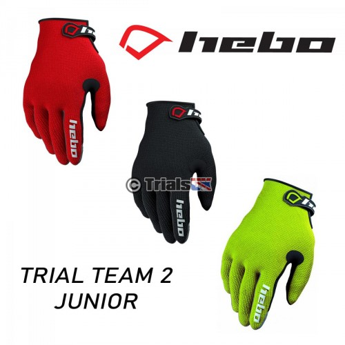 Hebo Junior Team II Trials Riding Gloves