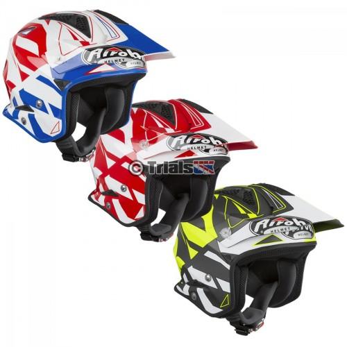 Airoh CONVERT Trials Riding Helmet - In 3 Colourways