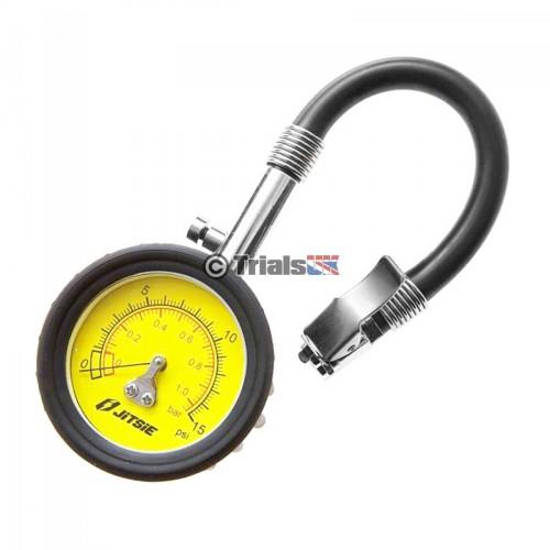 Jitsie Low Pressure 0-15 PSI Tyre Gauge