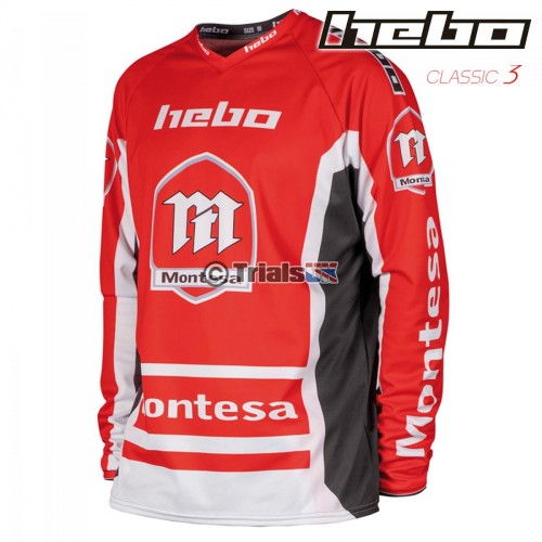 Hebo Official Montesa Classic 3 Trials Riding Shirt