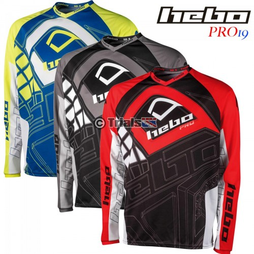 Hebo PRO19 Trials Riding Shirt - In 3 Colourways