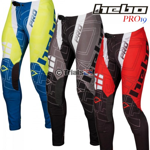 Hebo PRO19 Trials Riding Pant - In 3 Colourways