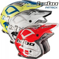 Hebo Zone 4 PATRICK Trials Riding Helmet - 2 Colourways