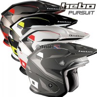 Hebo Zone 5 PURSUIT Trials Helmet With Visor - In 4 Colourways