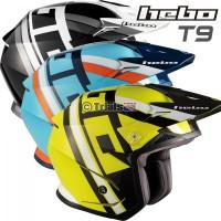Hebo Zone 5 T-NINE Trials Helmet With Visor - In 3 Colourways