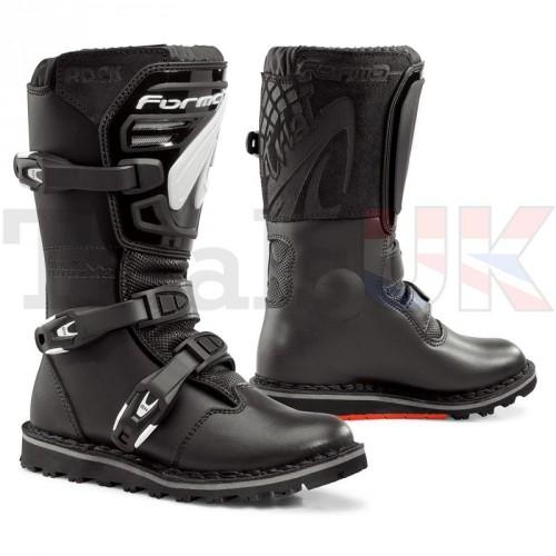 Forma Rock Junior Trials Boot - Black