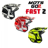 MOTS 2019 GO2 FAST2 Trials Riding Helmet - In 3 Colours
