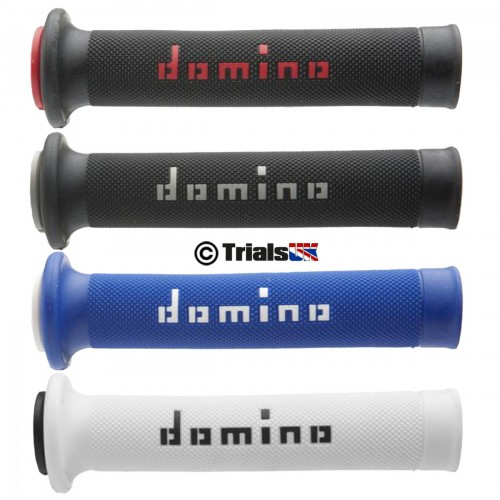 Domino Dual Compound Pro Trials Grips - Open Ended - In 4 Colours