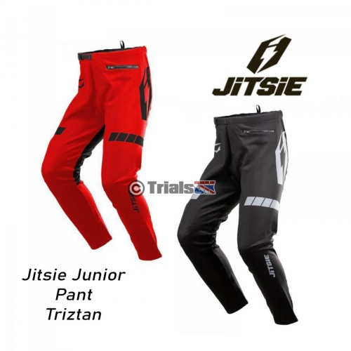 Jitsie Junior L3 TRIZTAN Trials Riding Pant - In 2 Colours