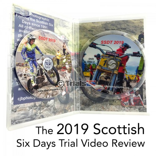 2019 Scottish Six Days Trial Review SSDT 2 Disc DVD