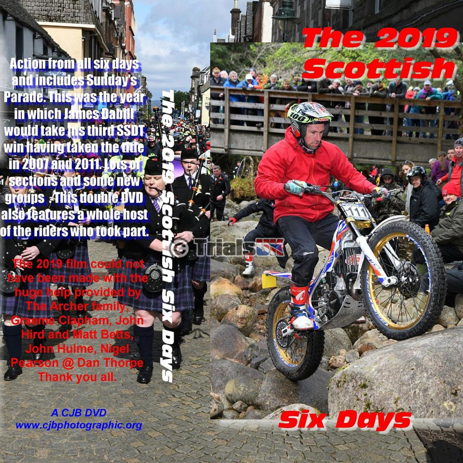 Scottish Six Days Trial 2019 Review DVD