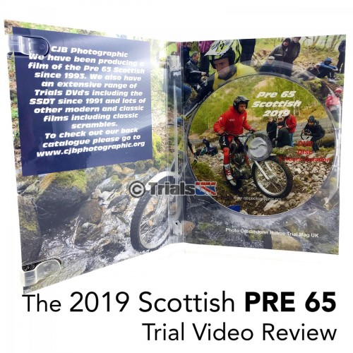2019 Scottish PRE65 Trial Review DVD