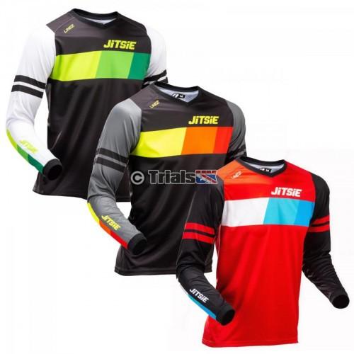 Jitsie LINEZ Trials Riding Shirt - In 3 Colour Designs