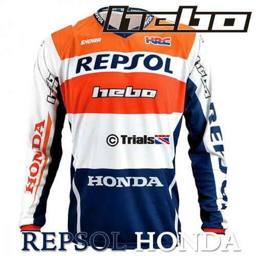 Hebo 2020 OFFICIAL Repsol Honda Montesa Team Riding Shirt