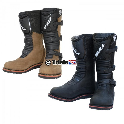 WulfSport LA Trials Riding Boots - Black or Brown