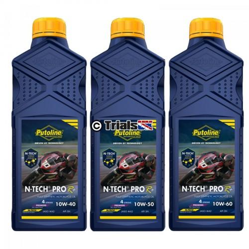 Putoline N-Tech R-Plus Engine Oil - 10W40/10W50/10W60 - 1 Litre