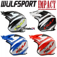 Wulf IMPACT Trials Riding Helmet - In 4 Colours