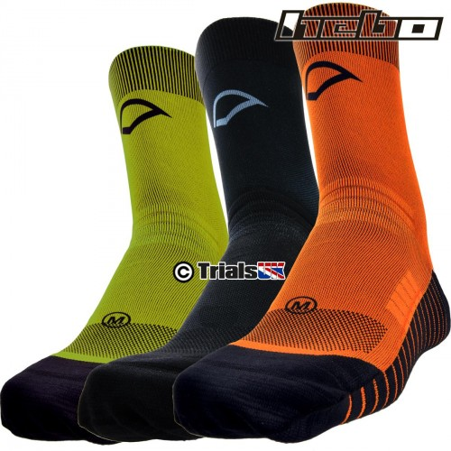 Hebo SOLID Trials Riding Sock - In 3 Colours