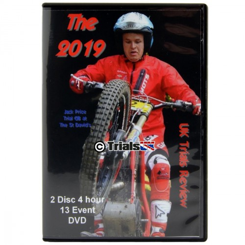 2019 UK Trials Review - 2 Disc DVD Set