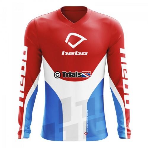Hebo 2020 Junior PRO Trials Riding Shirt