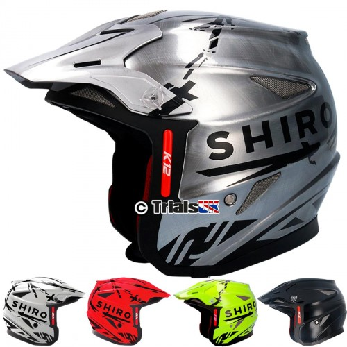 SHIRO K12 SuperLight Pro TR-1 Trials Helmet
