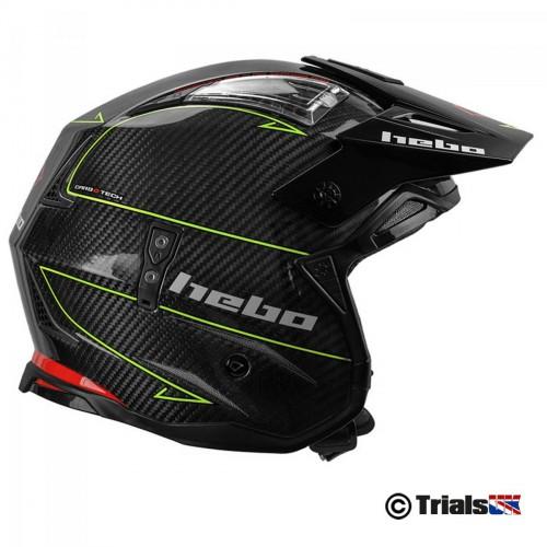 Hebo 2020 Zone 4 CARBON II Super Light Trials Riding Helmet