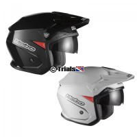 Hebo ZONE 5 Mono Trials Helmet - Drop Down Visor