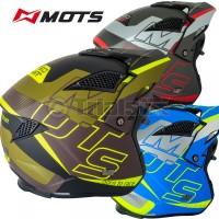MOTS 2020 JUMP UP01 Trials Riding Helmet - Drop Down Visor