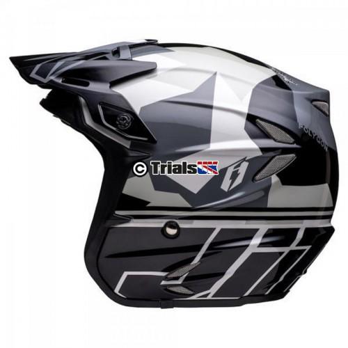 Jitsie 2020 HT2 POLYGON Lightweight Fibreglass Helmet