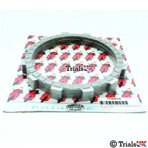 Beta Surflex Clutch Friction Plates - Evo/Rev3/Techno