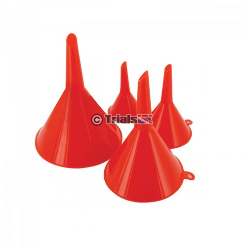 Funnel Set - 4 Pieces 50/75/100 /120mm