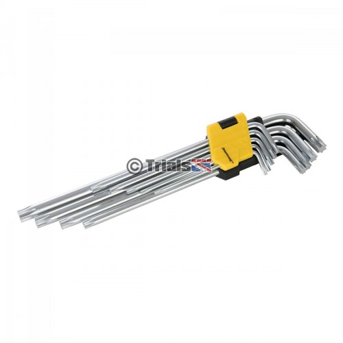 Torx Key Expert Set - 9 Piece - T10-T50