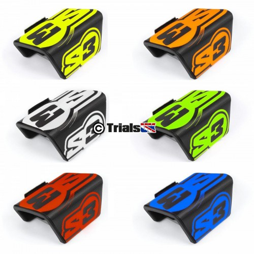 S3 PROTECH Trials Fatbar Pad - Available In 6 Colours