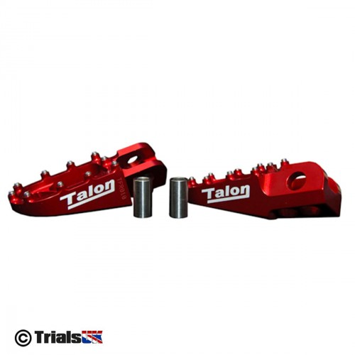 Talon X8 Aluminium Trials Foot Pegs
