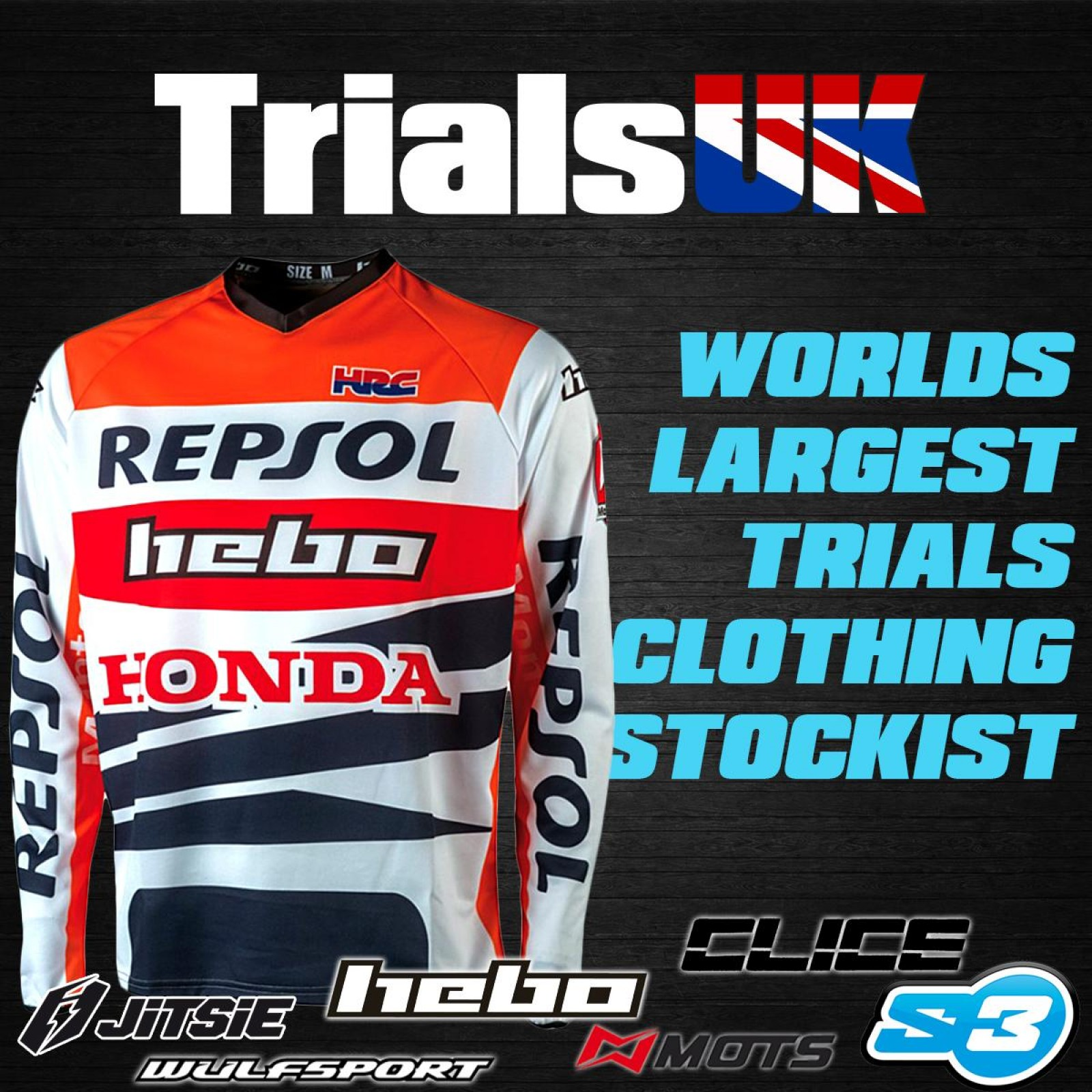New Wulfsport Trials Large Enduro Jacket Montesa GasGas TRS Vertigo BETA TXT  TY