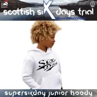 SSDT Official SuperSixDay Junior Full Hoody-White