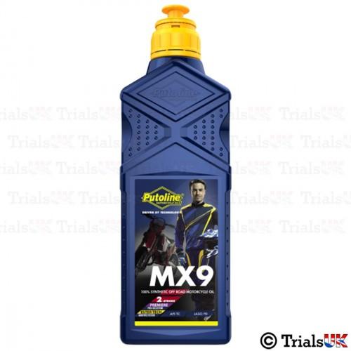 Putoline MX9 Ester Tech 2T Premix Oil - 1 Litre