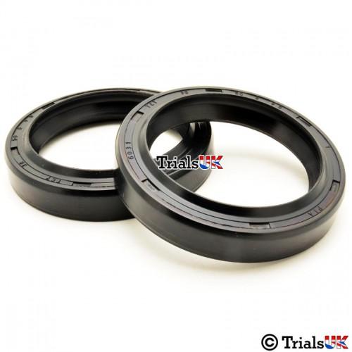 Beta 33mm Trials Fork Seals - Beta Rev 50/Evo 80 Junior/Medium Wheel