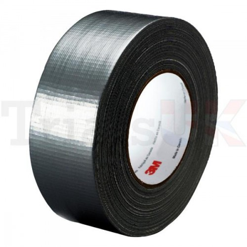 3M High Quality Duct Gaffer Tape - Black 50 MTR