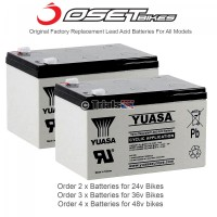 OSET-YUASA Original Replacement Battery- Order Amount as Required