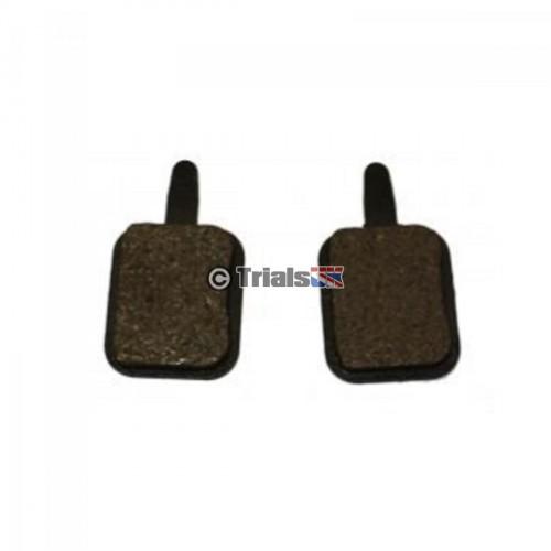Oset Cable Brake Pads - 16.0 24V/16.0 36V - 2007