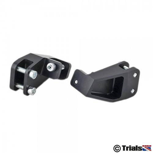 Jitsie Honda/Montesa Footpeg Hangers - 4RT/4RT 260/RR/Repsol